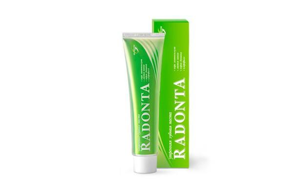 Зубная паста от зубного камня Радонта