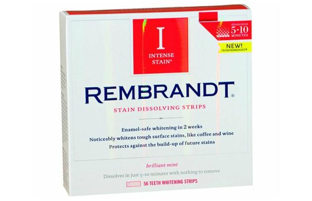 Полоски для отбеливания зубов Rembrandt