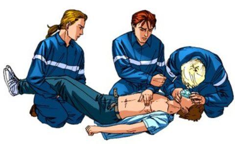 Реанимационные мероприятия несколькими спасателями