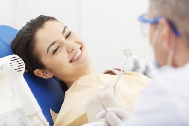 После лазерного отбеливания зубов