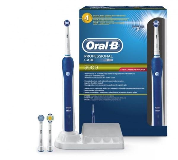 Oral-B Pro 3000 - лучшая электрическая зубная щетка