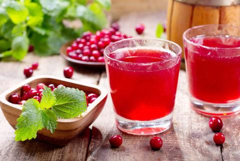 Морс из ягод – вкусно и полезно