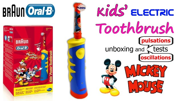 лучшая электрическая зубная щетка Oral-B Kids Mickey Mouse