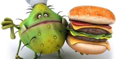 Испорченные продукты - частая причина расстройства желудка