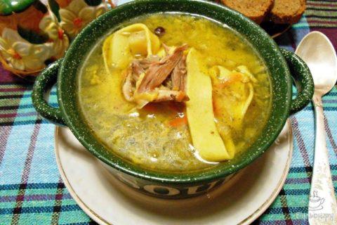 Откажитесь от наваристых и жирных супов