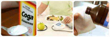 Какие преимущества появляются у диабета при использовании соды?