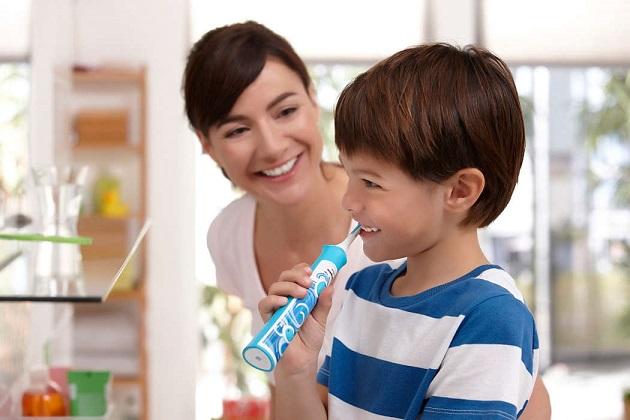 детская зубная щетка philips