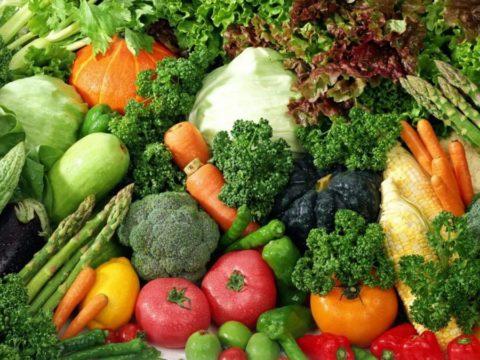 За две недели до чистки нужно перейти на вегетарианскую диету