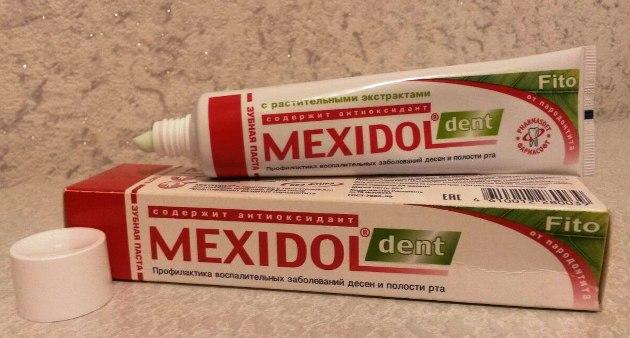 зубная паста Mexidol Dent Fito