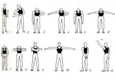 гимнастика для плеч