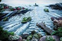 Австралийский фотограф Карл Уорнер создает пейзажи с использованием еды. В этот раз искусством стали рыба и другие морепродукты, что по своей природе обогащены йодом и поэтому противопоказаны при тиреотоксикозе.