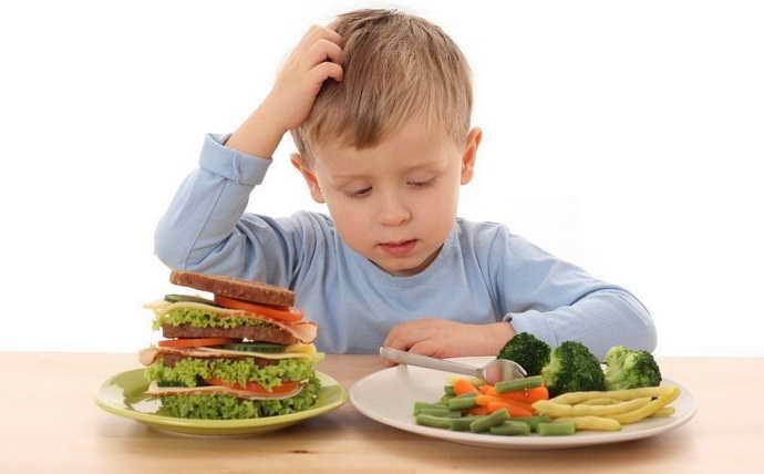 Галитоз из-за ошибок в питании