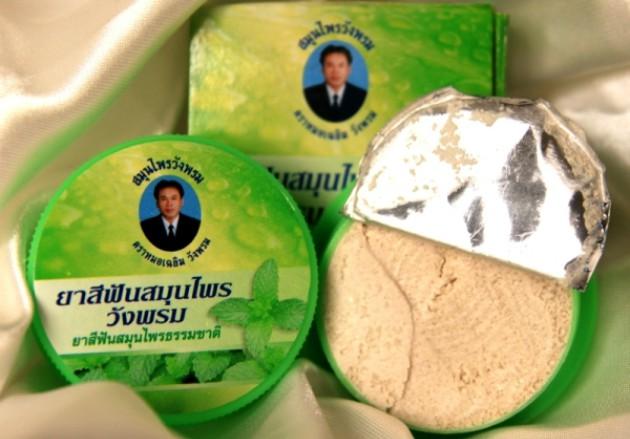 Тайская зубная паста Wangrom