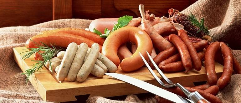 Разрешается ли есть сосиски или вареную колбасу при панкреатите?