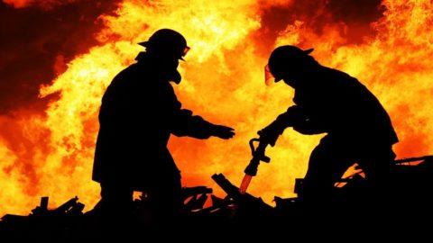 При крупных пожарах риск задохнуться выше, чем сгореть заживо