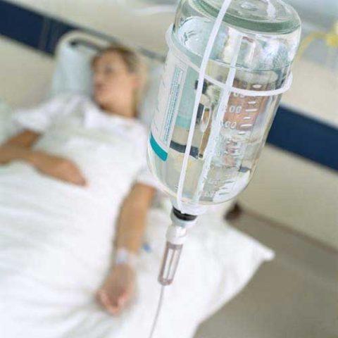 Инфузионные растворы уменьшают интоксикацию
