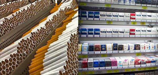 Производство и продажа сигарет