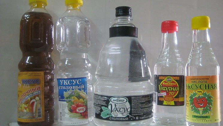 Многообразие форм и видов уксусной кислоты для домашнего использования