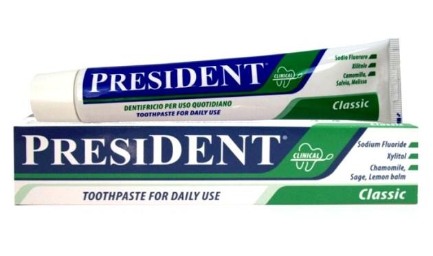 зубная паста от кариеса President