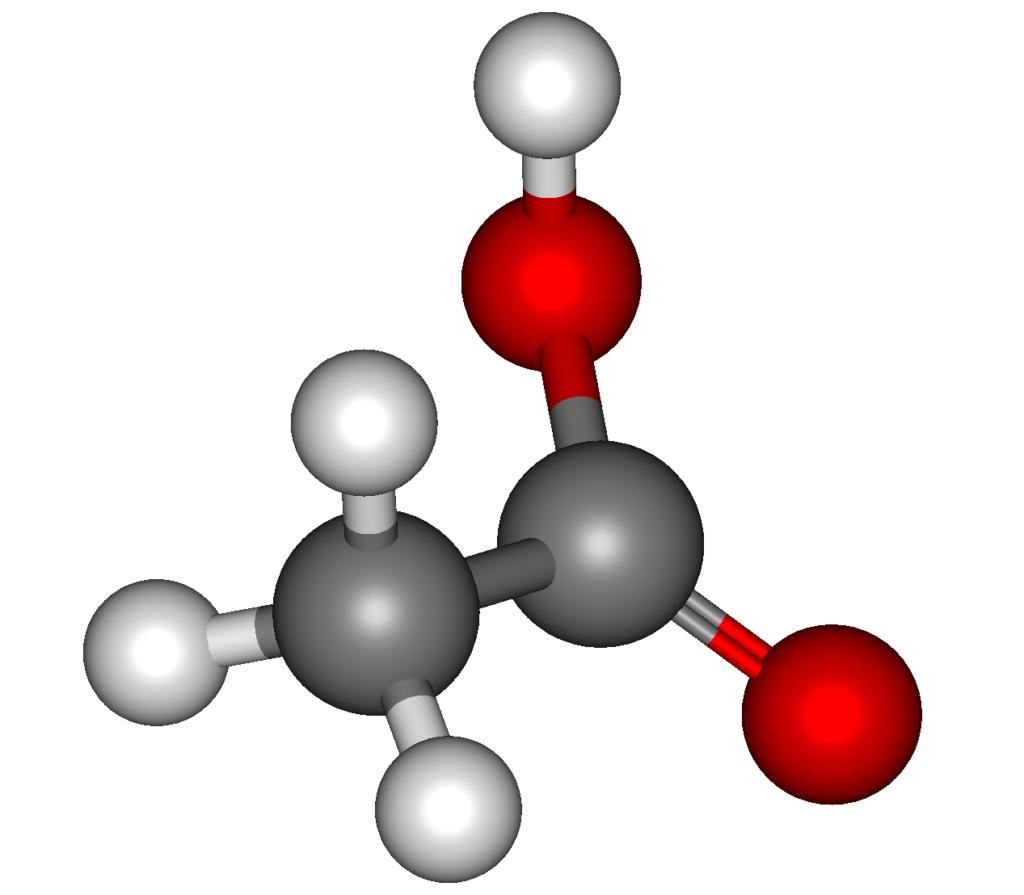 Молекула органической кислоты