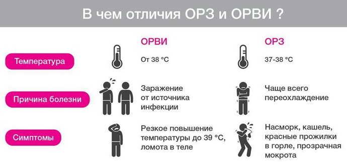 ОРЗ, ОРВИ