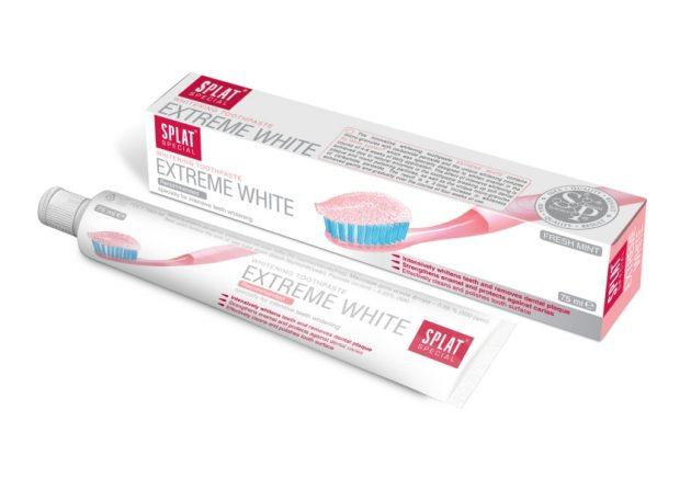 Отбеливающая паста SPLAT Extreme White