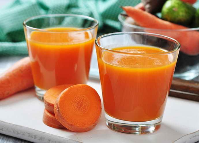 Морковный сок от стоматита