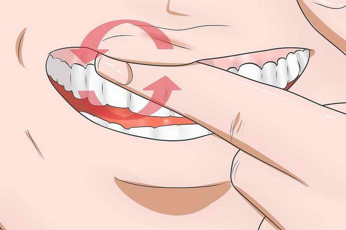 массаж при неоткрывании рта