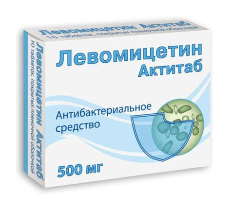 Левомицетин — препарат выбора при кишечных инфекциях
