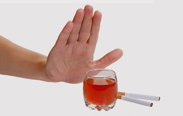 после гемисекции нельзя курить и пить алкогольные напитки