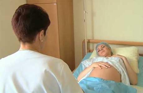 Будущая мама в стационаре