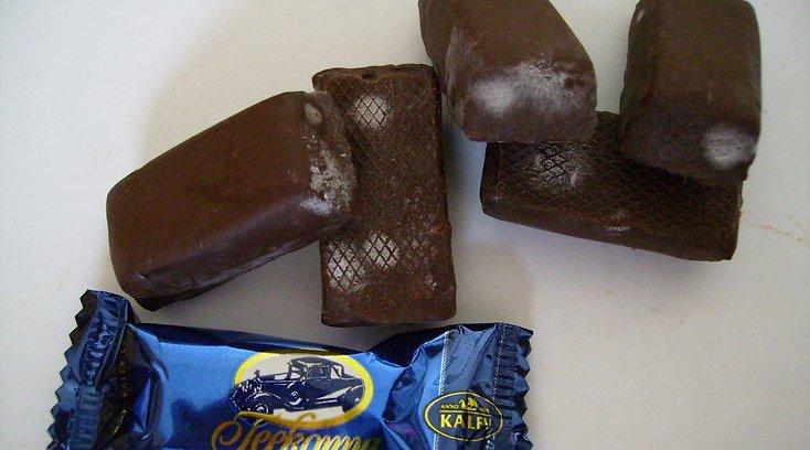 Просроченные экземпляры попадаются и в шоколадной продукции