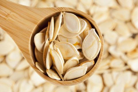Семена тыквы также можно использовать для очищения организма.